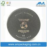 Rectángulo de regalo de empaquetado del reloj redondo respetuoso del medio ambiente reciclable del tubo con la pieza inserta de EVA