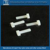 Setscrew пластичного белого цвета поставкы изготовления Китая Hex Nylon