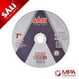 Disque abrasif de découpage en métal de qualité et roue de polissage en acier