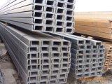 Profilé en u laminé à chaud d'acier de construction de carbone