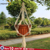Gancho da planta do Macrame da corda de Cotto para Deco Home