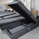 Moder Falz-Entwurfs-Sofa-Bett mit Gewebe-Sofa gesetztem Inclued Storge Kasten