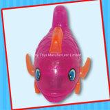 Het plastic Stuk speelgoed van Vissen Flsh met Suikergoed