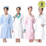 Modèles neufs à la mode d'uniforme d'hôpital d'infirmière de type