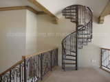 Escadarias da espiral do alumínio de molde/grande escadaria espiral Victorian