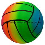 OEMによって印刷されるPVC虹のビーチボールか水ゲーム・ボール