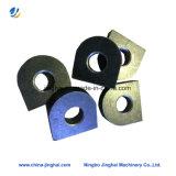 Hoge Precisie CNC die Ijzer/de Bladen van Alluminum/van het Metaal voor Twee Types machinaal bewerkt