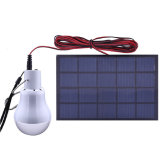 Luz de bulbo solar portable del LED