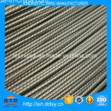10.0mm de Spiraalvormige Draad van het Staal van PC van Ribben voor Cement Polen