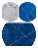 Luva de couro azul reforçada