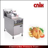Frigideira industrial da pressão da galinha do painel mecânico de Cnix Pfe-500