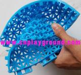 Stuoia di plastica del campo da giuoco dell'interruttore di sicurezza di plastica poco costoso della stuoia sulle azione (A-22901)