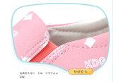 아이 Ktkd-071를 위한 사랑스러운 분홍색 편평한 적당 즈크화