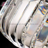 現代金のホテルのロビーのための円形の水晶天井灯