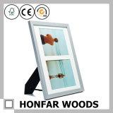 Abbildung-silberner festes Holz-Abbildung-Foto-Rahmen der Bildschirmanzeige-2