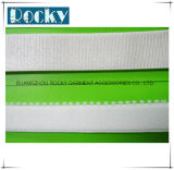 Kleid-Zubehör-weißes Streifen-Gummiband gesponnenes Band