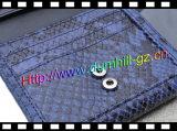 De Portefeuille van de Huid van de slang Dame Wallet met de Spiegel van de Portefeuille van de Spiegel