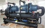 охладитель компрессора винта гликоля 160kw -5c/-10c R404A охлаженный водой