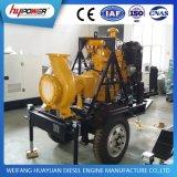 Dieselmotor-Wasser-Pumpe stellte mit Schlussteil für Bewässerung ein