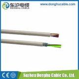 Tipos isolados PVC europeus do cabo distribuidor de corrente