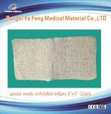 病院、クリニック及びホームケアのための使い捨て可能な綿のガーゼの綿棒