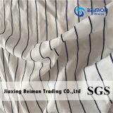 Het textiel Nylon van de Polyester van de Streep van het Ontwerp en de Katoenen Stof van Organza voor de Kleding van de Dame