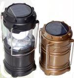 Luz que acampa recargable solar flexible de la batería LED de la recarga del recorrido LED