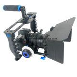 Handheld коробка навеса оборудования киносъемки набора C200 клетки видеокамеры DSLR профессиональная