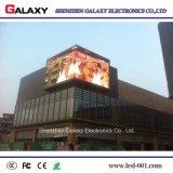 Full Color P6.67 Visor de vídeo LED fixo ao ar livre para publicidade, placa