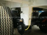 plano de 40feet 3axle/cargo utilitario plano del volquete del campista del tanque del carro pesado del envase de Platfrom/semi refrigerado acoplado (solo neumático)