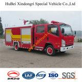coche de bomberos Euro3 del agua de la espuma de 4ton Isuzu