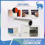 Fiable producto de la fábrica de transferencia de calor de sublimación del rollo de papel A3 A4