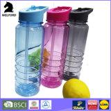 Портативная пластичная дешевая выдвиженческая бутылка воды Joyshaker спортов