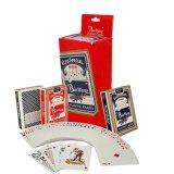 Tarjetas que juegan de papel del casino para jugar o la hospitalidad