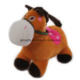 Giocattoli farciti svegli del cavallino del cavallo