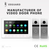 Seguridad casera del intercomunicador de la memoria 7 pulgadas de vídeo Doorphone del Interphone