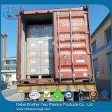De industriële Oranje Dubbele Uitrustingen van het Gordijn van de Strook van het Geribbelde anti-Insect Vinyl