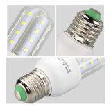 9 watts de bulbos eficientes do diodo emissor de luz da economia de energia com base E27 ângulo de feixe de 300 graus