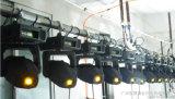 LED Gobo 이동하는 맨 위 빛 60W 단계 점화 DJ는 디스코 결혼식 점화를