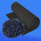Medias de filtrage non-tissés de charbon actif
