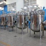高い温度のステンレス鋼マルチハウジングのバッグフィルタ