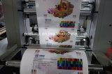 Velocidad 6/8 impresora flexográfica del color para la película plástica
