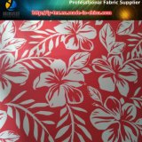 꽃 세계, 폴리에스테 스판덱스 자카드 직물 직물에 인쇄하는 이동