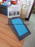 4c Impresión Offset POS Cardboard Contador de pantalla para la almohadilla de escritura