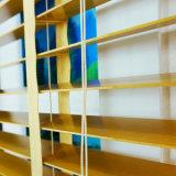 Gordijn van het Huis van Whosale trekt het Slimme manueel de Houten Zonneblinden van de Schaduw van de Kabel