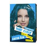 Cor 2016 provisória azul brilhante do cabelo de Tazol 79*2