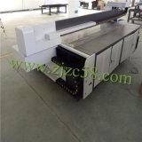 O grande formato grava a impressora Flatbed UV da tinta branca do efeito