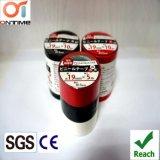Nastro elettrico dell'isolamento del PVC di qualità di estensione per il servizio dell'Italia (0.13mmx15mmx10m)