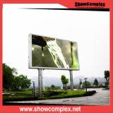Alta luminosità dello schermo di visualizzazione esterno del LED di colore completo per installazione fissa (P8)