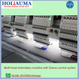 Holiauma Tシャツの刺繍の高速刺繍機械機能のためにコンピュータ化される上のQuanlityマルチ機能6ヘッドによって混合される刺繍機械